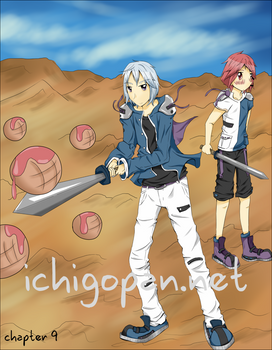 Ichigopan Chapter 9 Cover