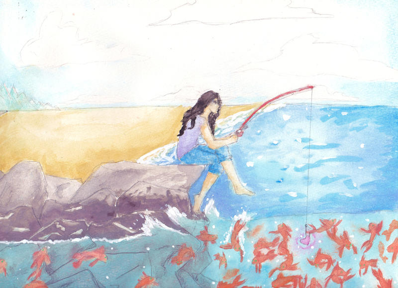 More fish in the sea by bromocresolgreen on deviantart for More fish in the sea