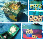 Sunflower Box by BromocresolGreen