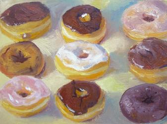 Nine Donuts by BromocresolGreen