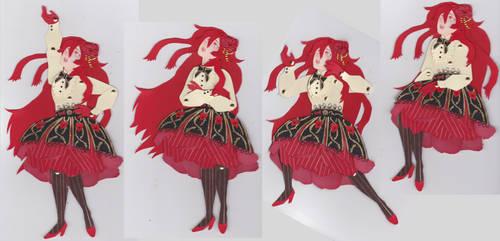 Aurelia - Paper Doll by BromocresolGreen
