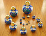 Matryoshka - Russian Dolls