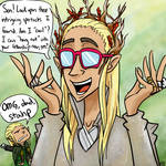 Thranduil- Middle Earth's Most Embarassing Dad