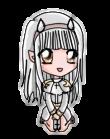 Chibi White Namine by Sorijama