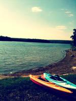 Kayaking Paradise by Hoogacker