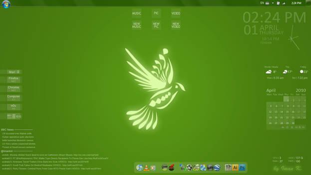 Dove of Freedom Desktop