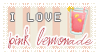 { I Love Pink Lemonade } by tinystrawberry