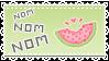 Nom,Nom, Nom! by tinystrawberry