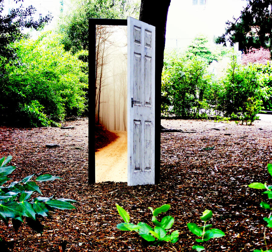 Image result for mysterious door