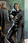 Rookie cop in Raccoon City by Attaora