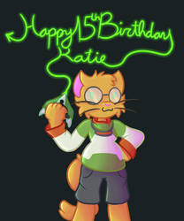 Happy 15th Birthday, Katie! by MikalaMouse