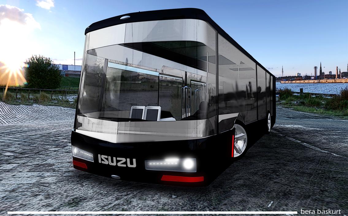 isuzu concept bus by berabaskurt on deviantart. Black Bedroom Furniture Sets. Home Design Ideas