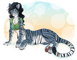 Flat Color: Riversong by etuix