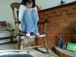 L  In a Rocking Chair