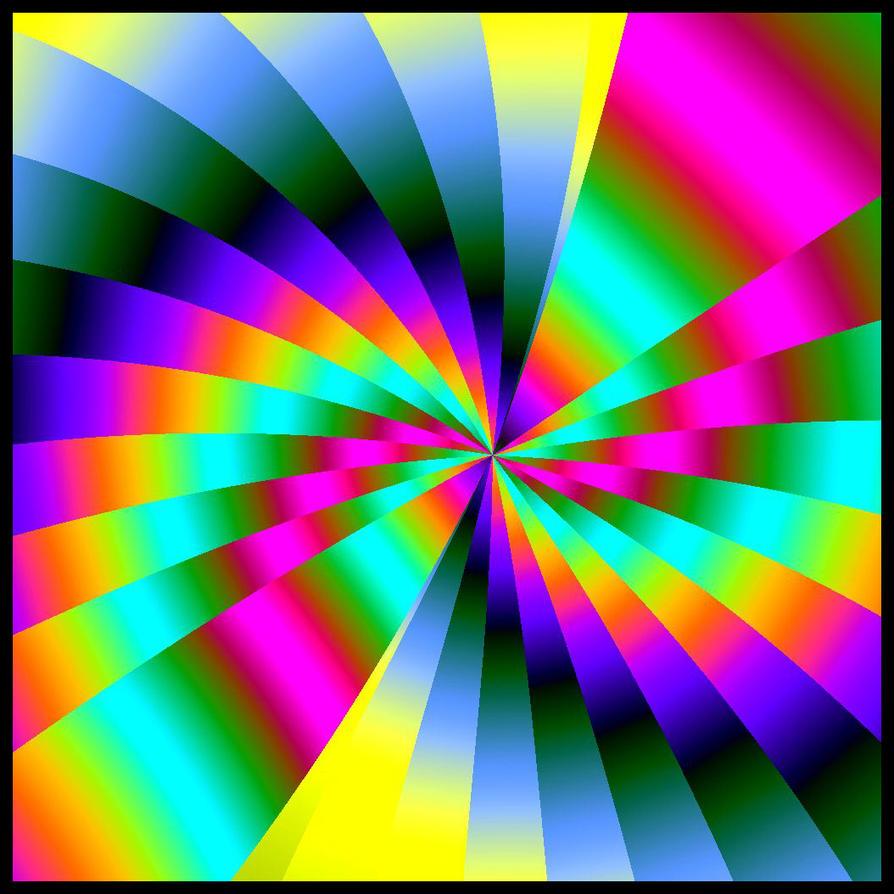 spiral rainbow - photo #18
