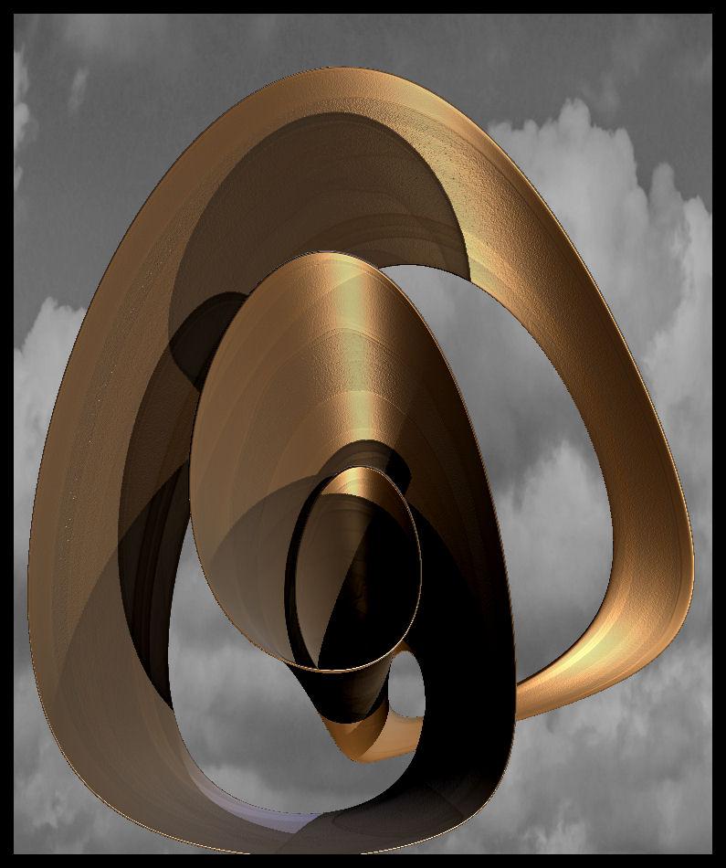 27-10-13 Copper Sculpture by bjman