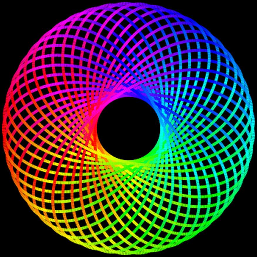 14-10-14 Rainbow Torus by bjman