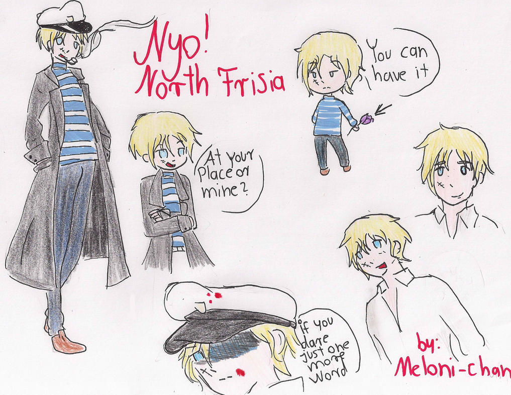 Nyo ! North Frisia by Meloni-chan