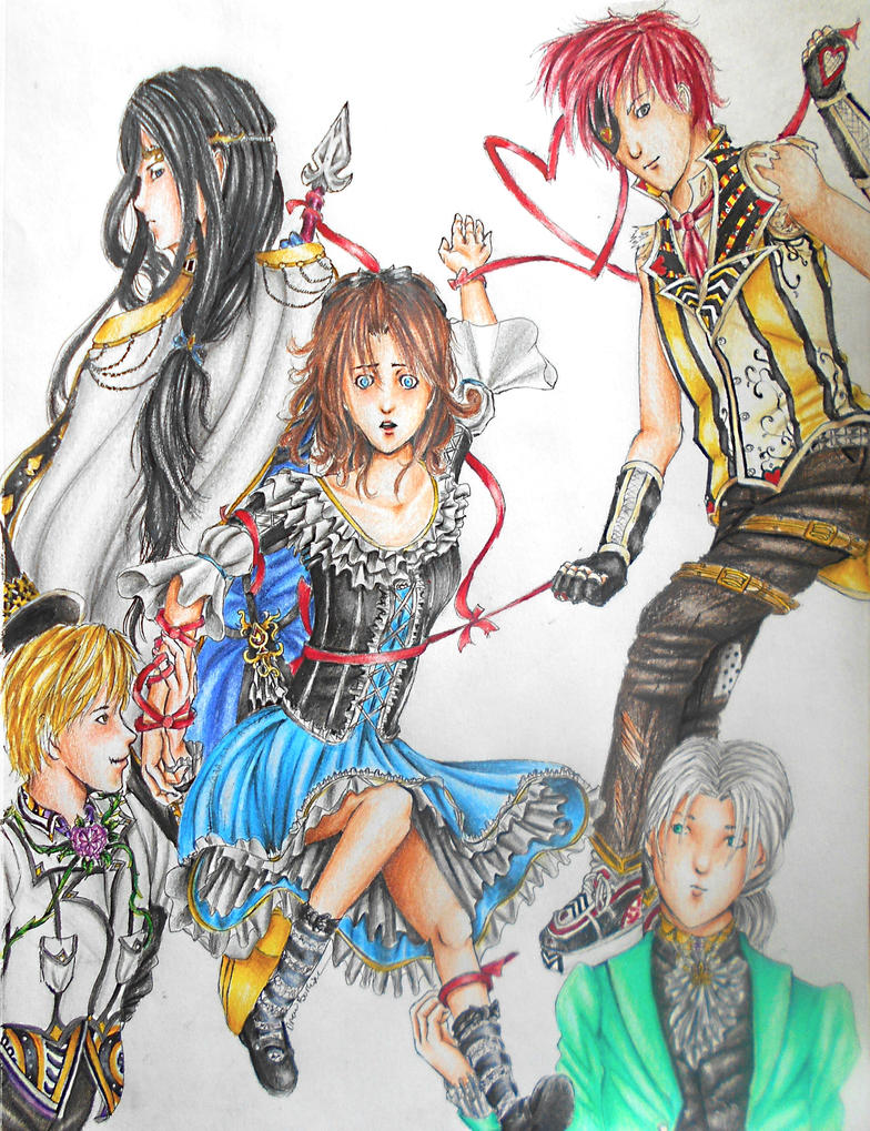 .:AT:. Alisa and the Four Kings by Pirategirl28
