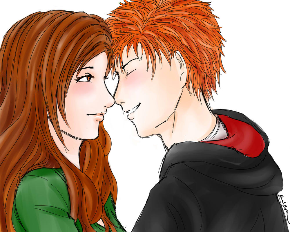 Ichihime: Eskimo Kiss by Pirategirl28