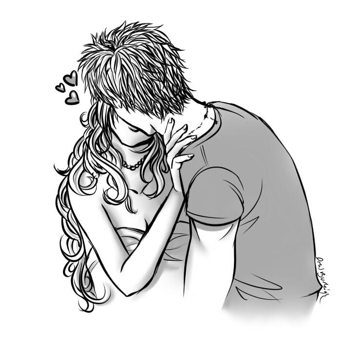 Kiss practice by Pirategirl28