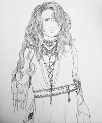 Inktober I : Savaria  by Pirategirl28