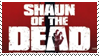 Shaun of the Dead Stamp
