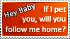 Hey Baby Pick-Up Line 004 by StirFryKitty
