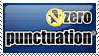 Zero Punctuation 01 Stamp by StirFryKitty