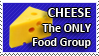 Cheese Food Group Stamp by StirFryKitty