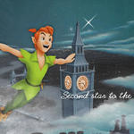 Peter Pan Second Star by StirFryKitty
