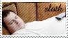 7 Deadly Stamps - Sloth by StirFryKitty