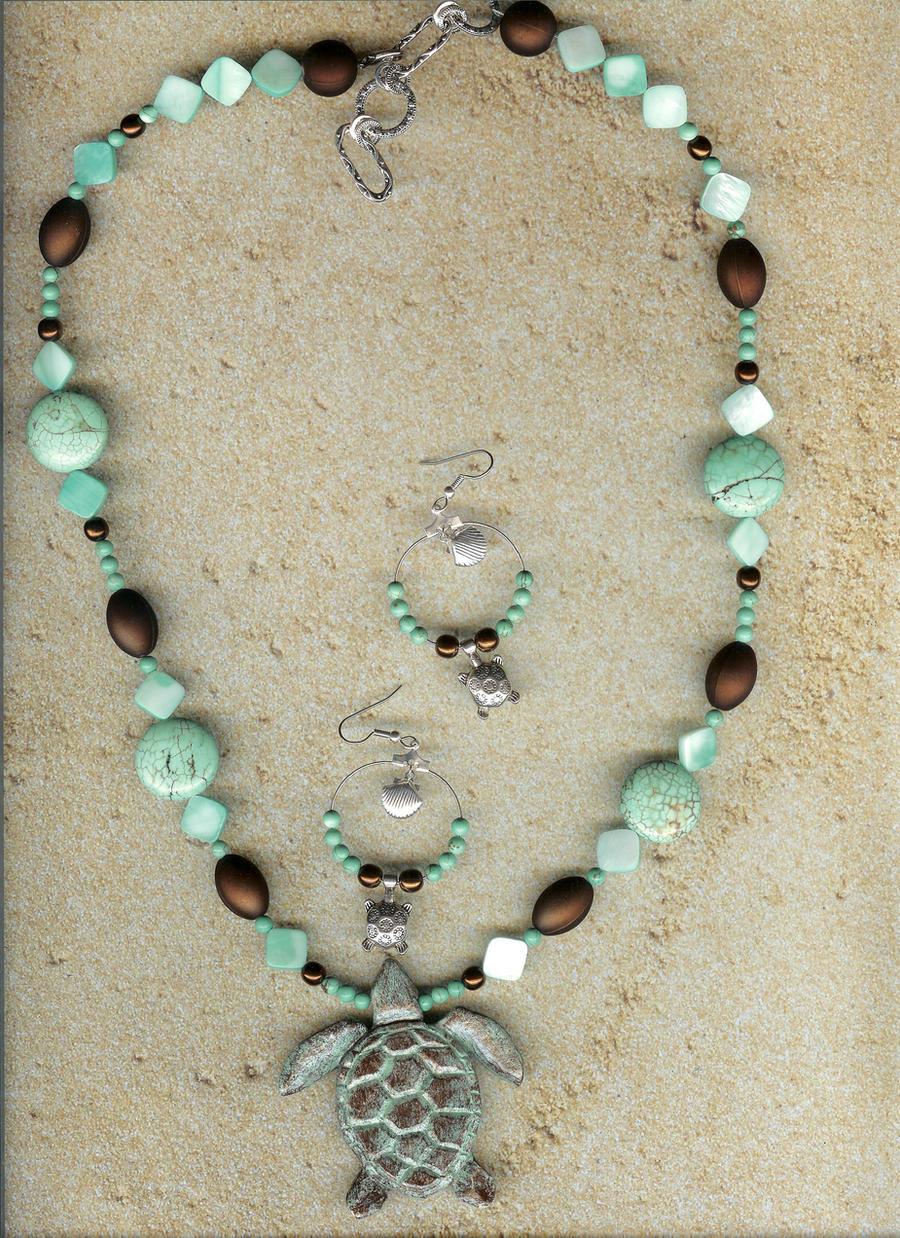 Hand crafted Sea Glass Jewelry.