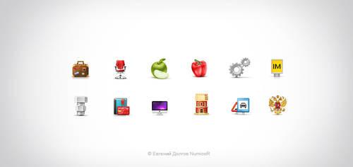 Icons for Krasnoyarsk biz by Numicor