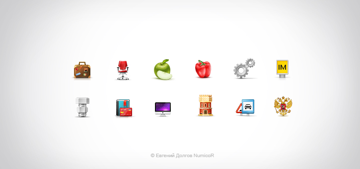 Icons for Krasnoyarsk biz by Numicor