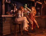 situation in the tavern