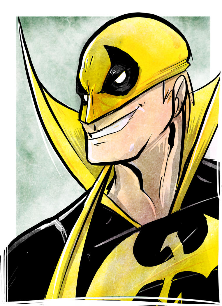 Iron Fist Friday Doodle by Honez