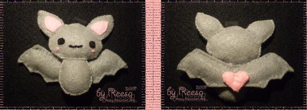 bat plush by reesq
