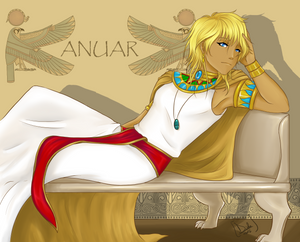 :Art trade: Anuar by dyddycat