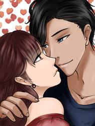 Lovers by dyddycat