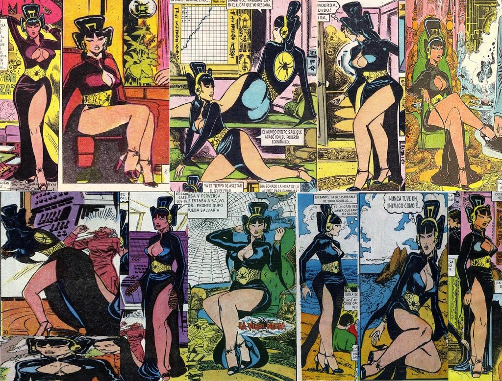Collage de imagenes de Madame Ling by MADstarter by MADstarter