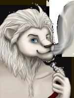 Avatar White lion by Ischta