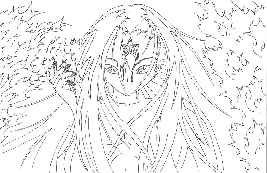 Line Art God Images : Fire god line art by haoxannaxyoh on deviantart