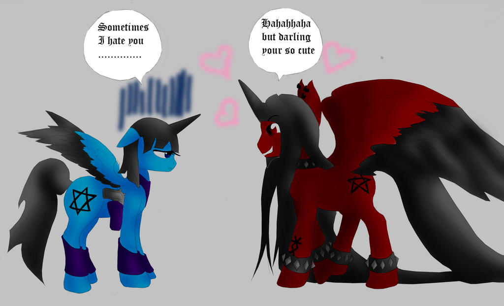 my ponny by Haoxannaxyoh