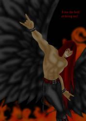 Fallen Angel Hao- i am the best by Haoxannaxyoh