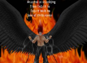 Fallen Angel Hao-strength by Haoxannaxyoh