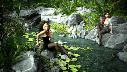 The Perils of Pantyhose in the Jungle