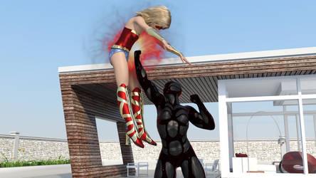Part 11: Wonder Girl Goes Flying