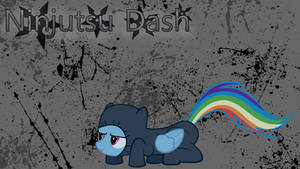 Rainbow Dash - Ninjutsu Wallpaper