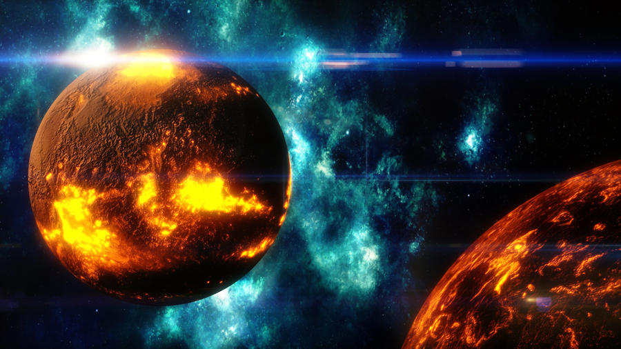 Death of a solar system by pal121 on deviantART